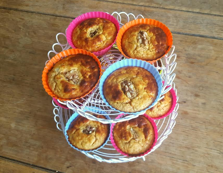 RECIPE: Apple, Carrot and Vanilla Protein Muffins