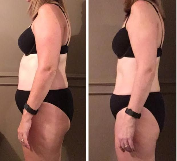 22lbs in 12 weeks…Deb's amazing photos