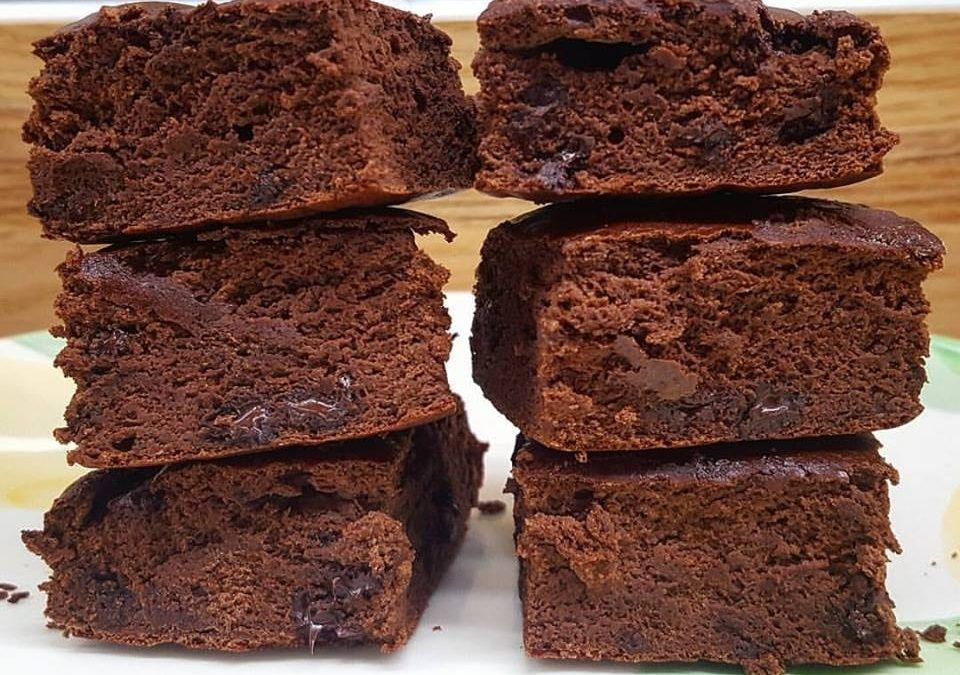 RECIPE: Protein Chocolate Brownies