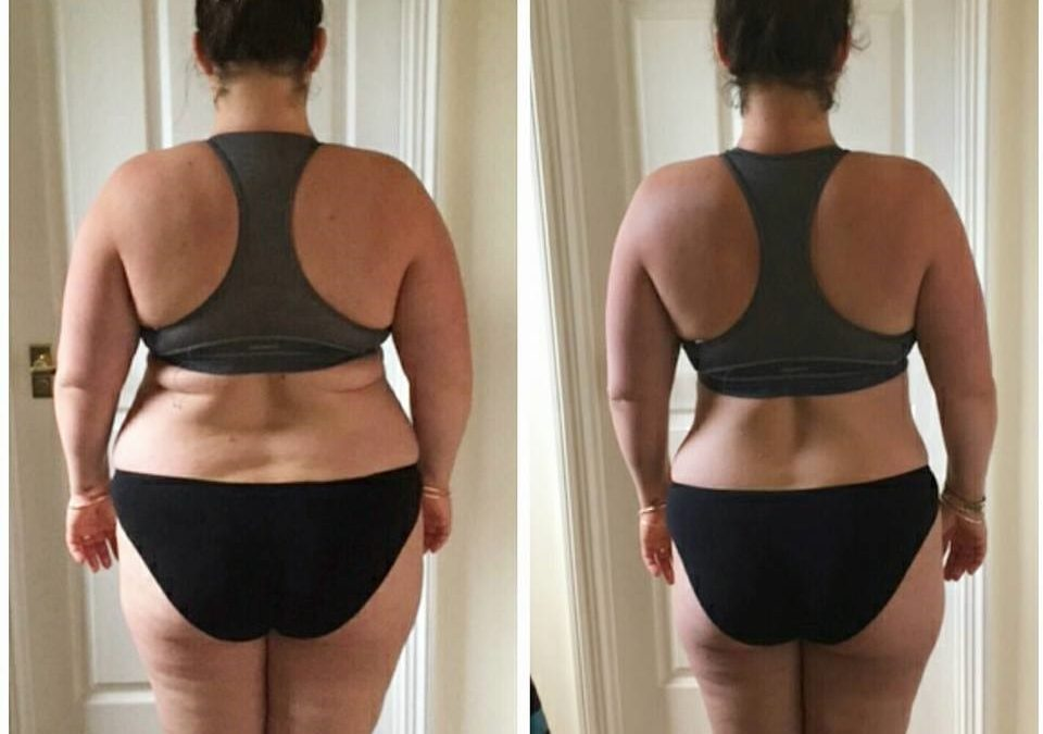 5 stone down since January…Vicky's amazing photos