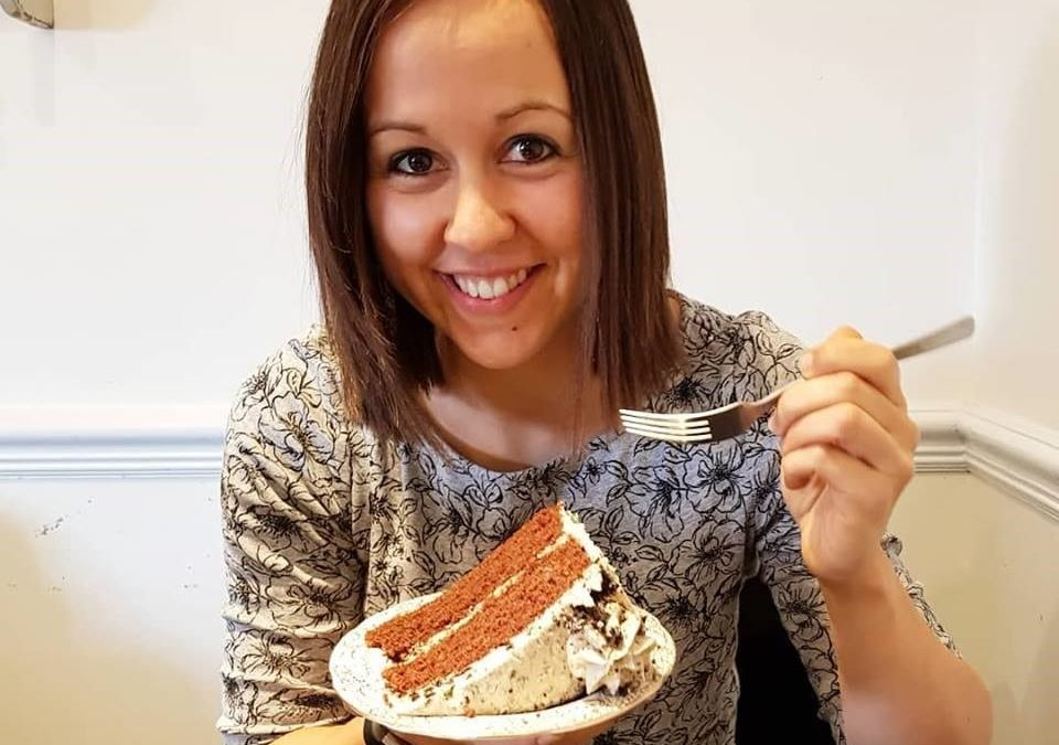 Why you should eat cake (and here's me eating some)