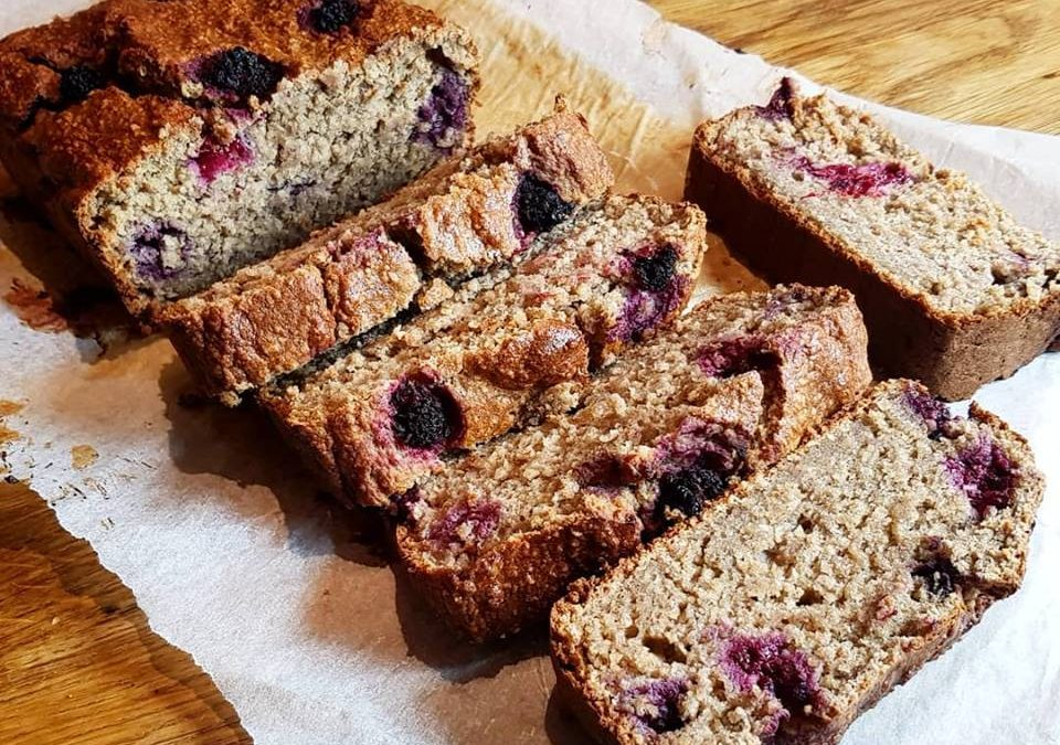 RECIPE: Blackberry Banana Bread