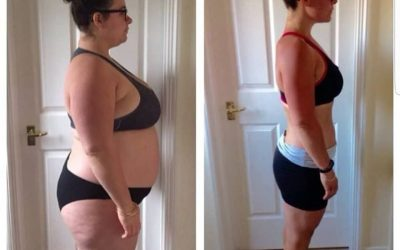 94 POUNDS weight loss in 16 months – Vicky's incredible photos