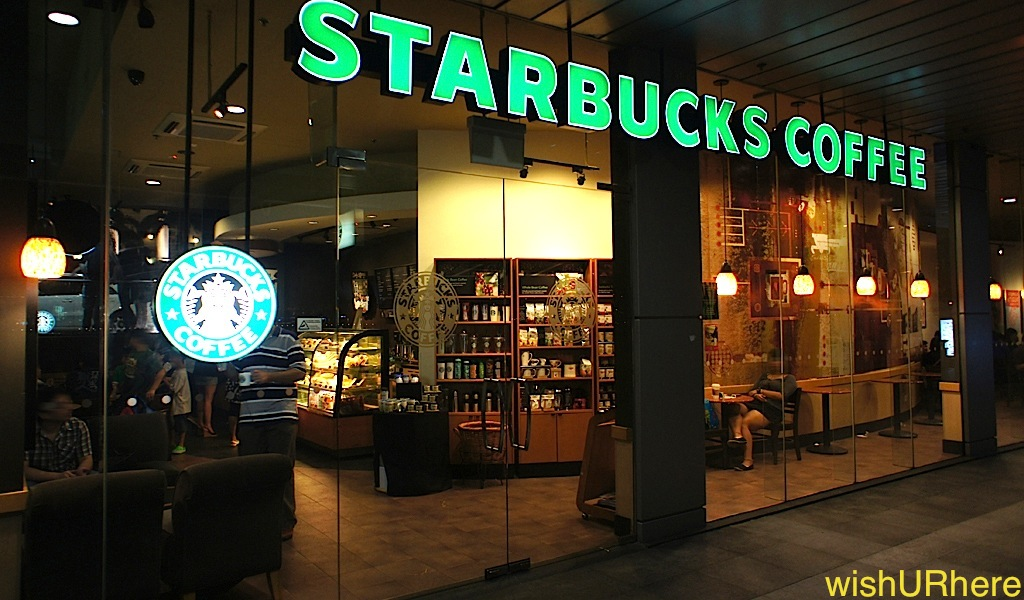starbucks exterior 1 How Many Starbucks Coffee Shops Are There In The World