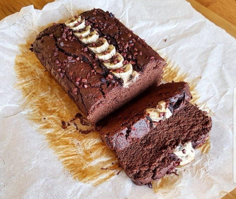 RECIPE: Healthy Chocolate Banana Bread