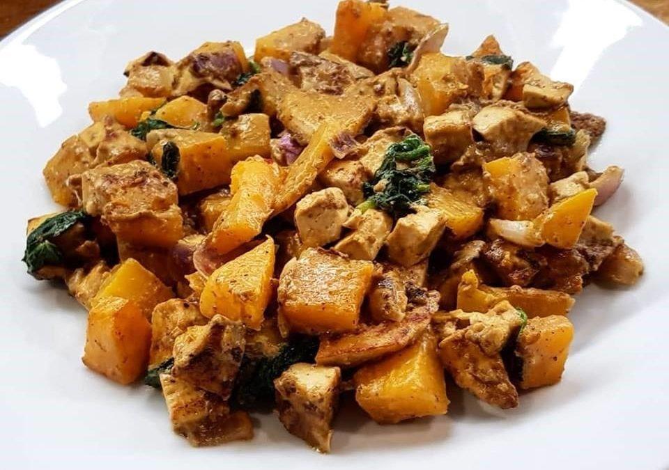 RECIPE: Tofu and Butternut Squash curry