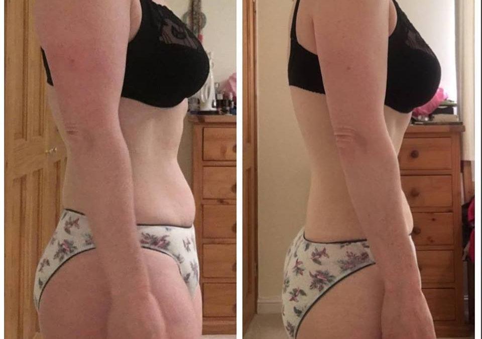 Online coaching – Sarah's fantastic 3 month progress