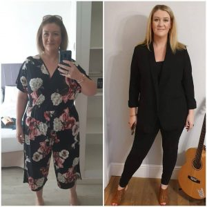 Client weight loss result