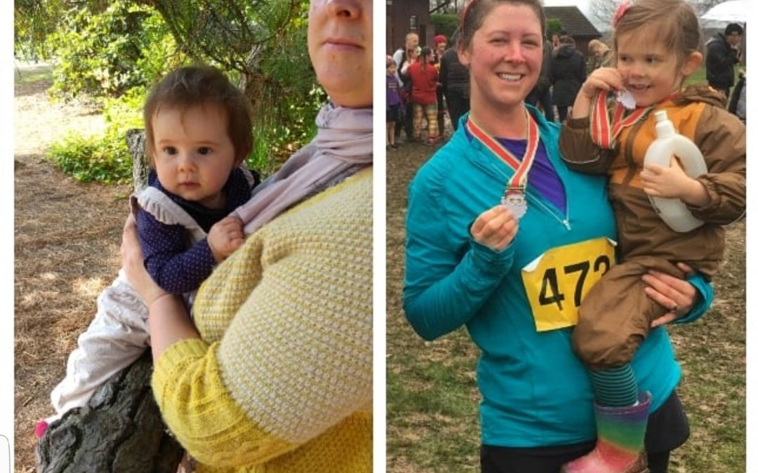 Healthy weight loss as a busy mum – Claire's story