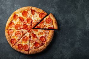 Pizza as part of a balanced diet